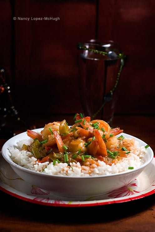 Summer shrimp creole honest cooking for Summer fish and rice