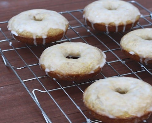 Baked Lemon Buttermilk Donuts