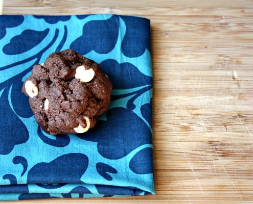 Coconut flour adds natural sweetness and fiber to these amazing chocolate cookies.