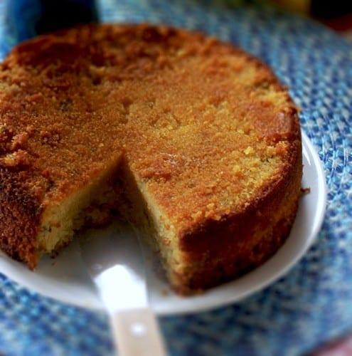 Orange Mint Cake