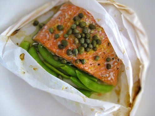 Salmon Papilotte