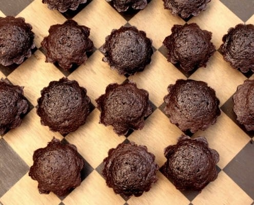 Chocolate Zucchini Bread Bites