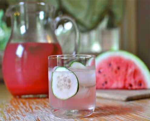 Watermelon Cucumber Cooler – Honest Cooking