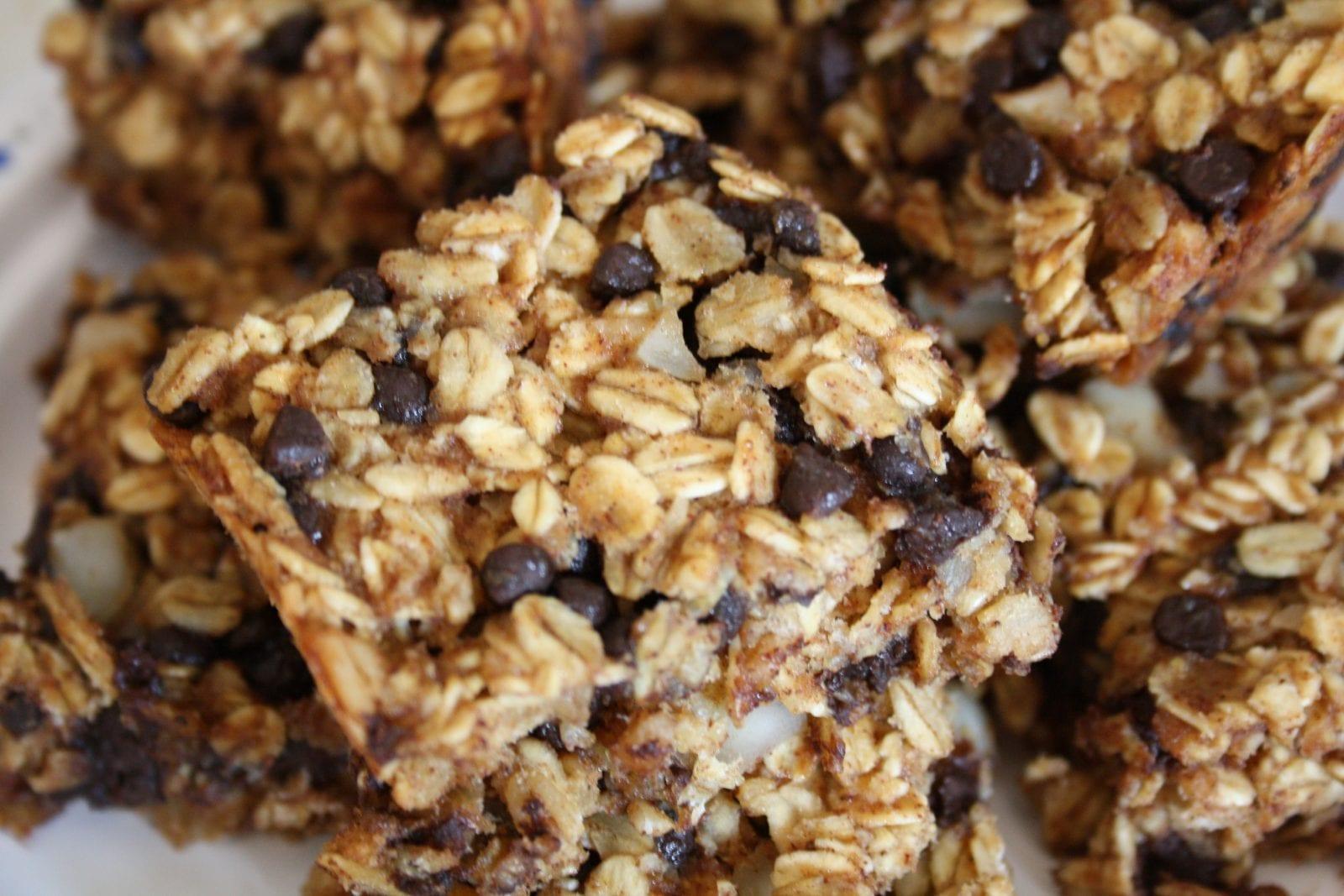 Chocolate chip granola bar recipe healthy