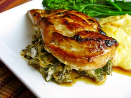 Lemon, Artichoke and Goat Cheese Stuffed Chicken – Honest Cooking