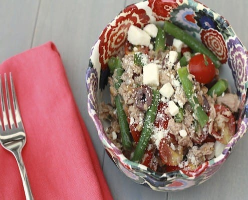 Farro Tuna Salad