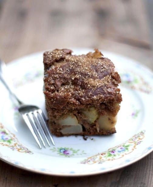 Coconut Milk Weetabix Pear Cake Honest Cooking
