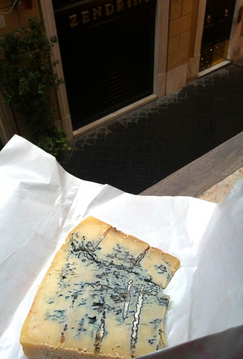 strong blue cheese