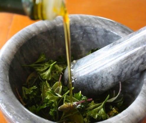 Garden Herb Rub