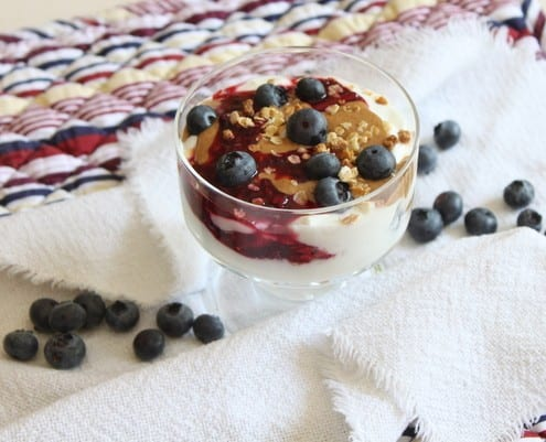 PB&J Greek Yogurt Parfait