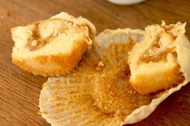 marmite cupcake