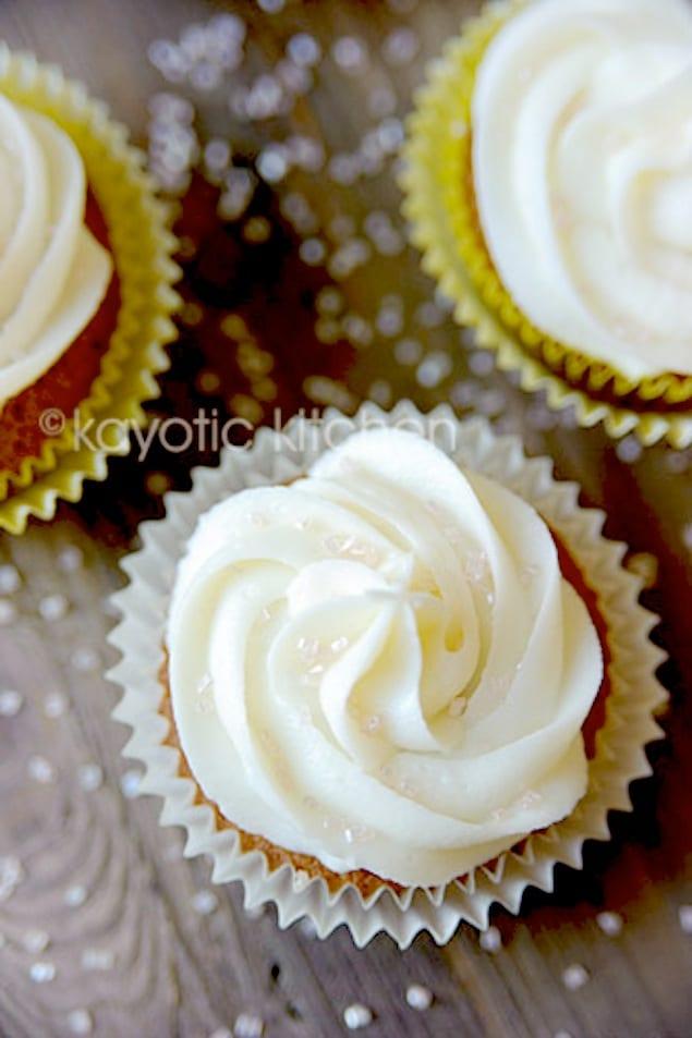 licorice cupcake