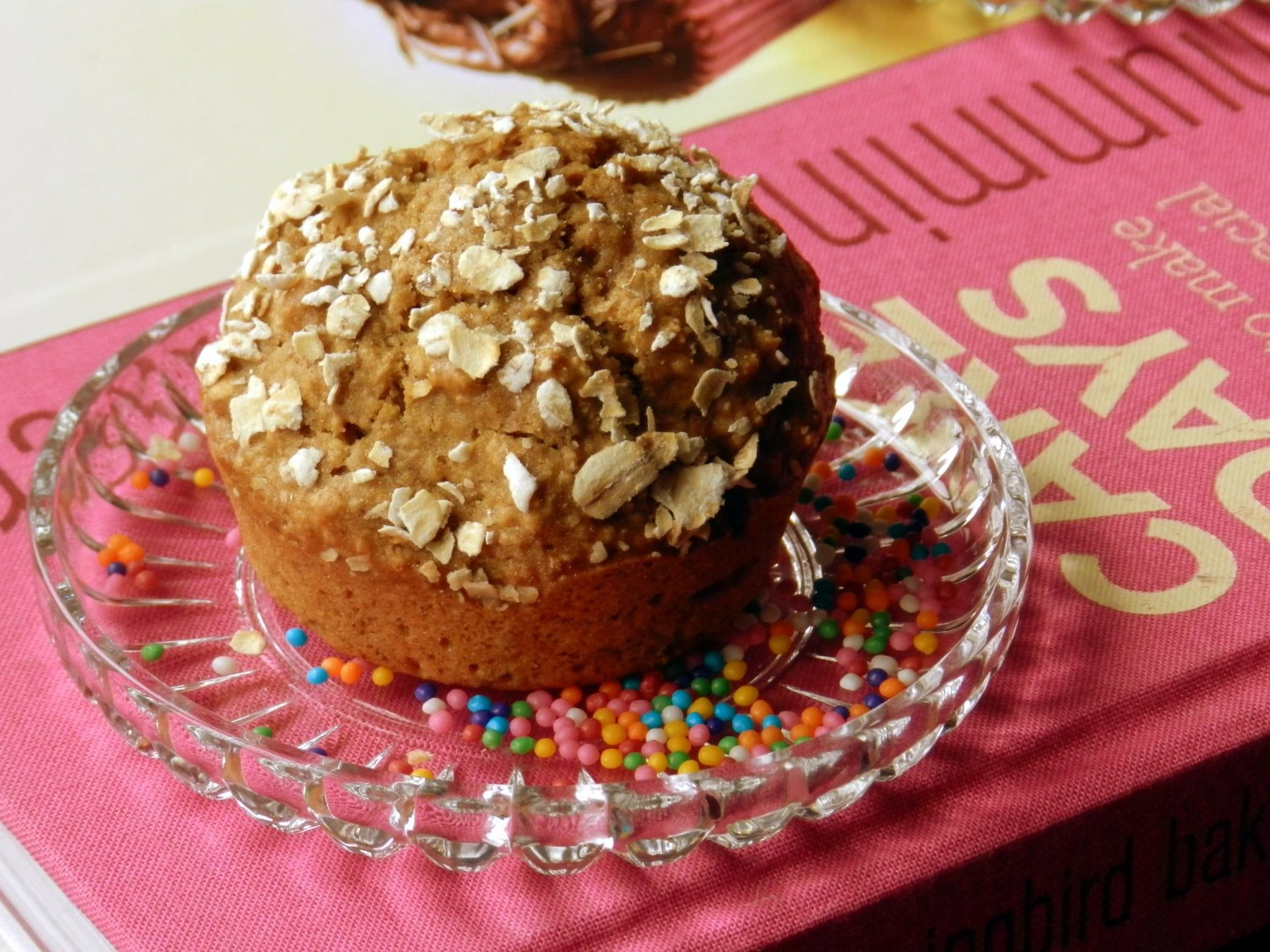 Apple and Oat Muffin