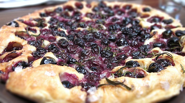Grape Flat Bread
