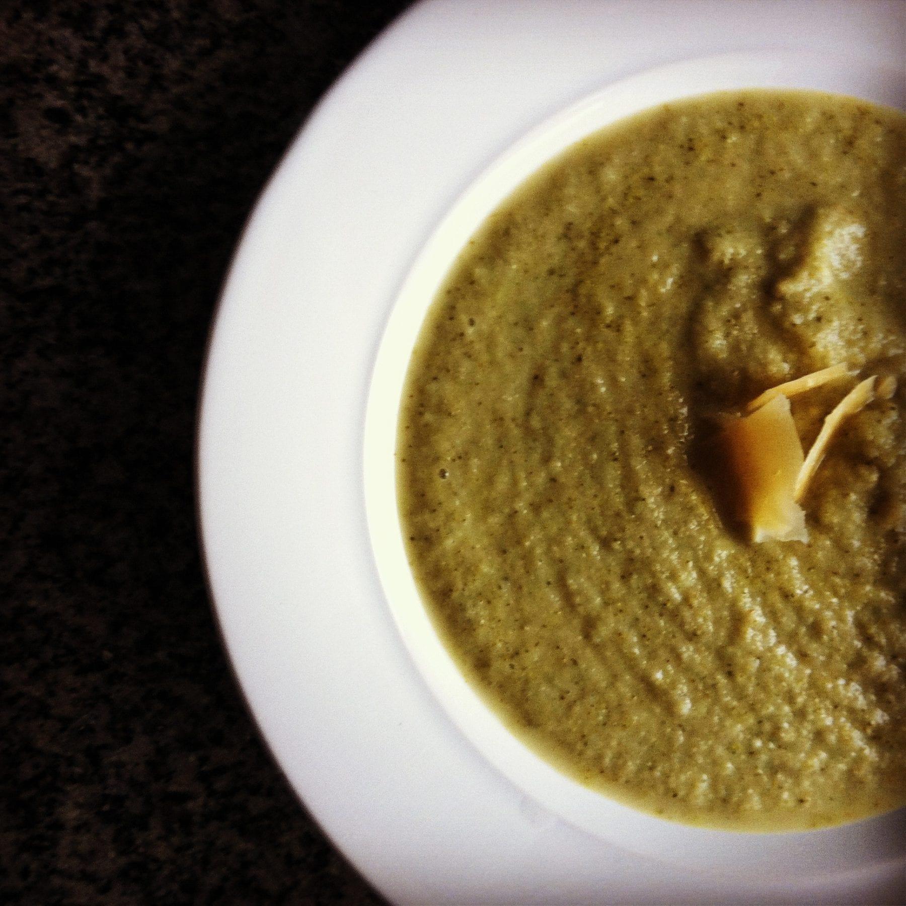Broccoli Parmiggiano Soup