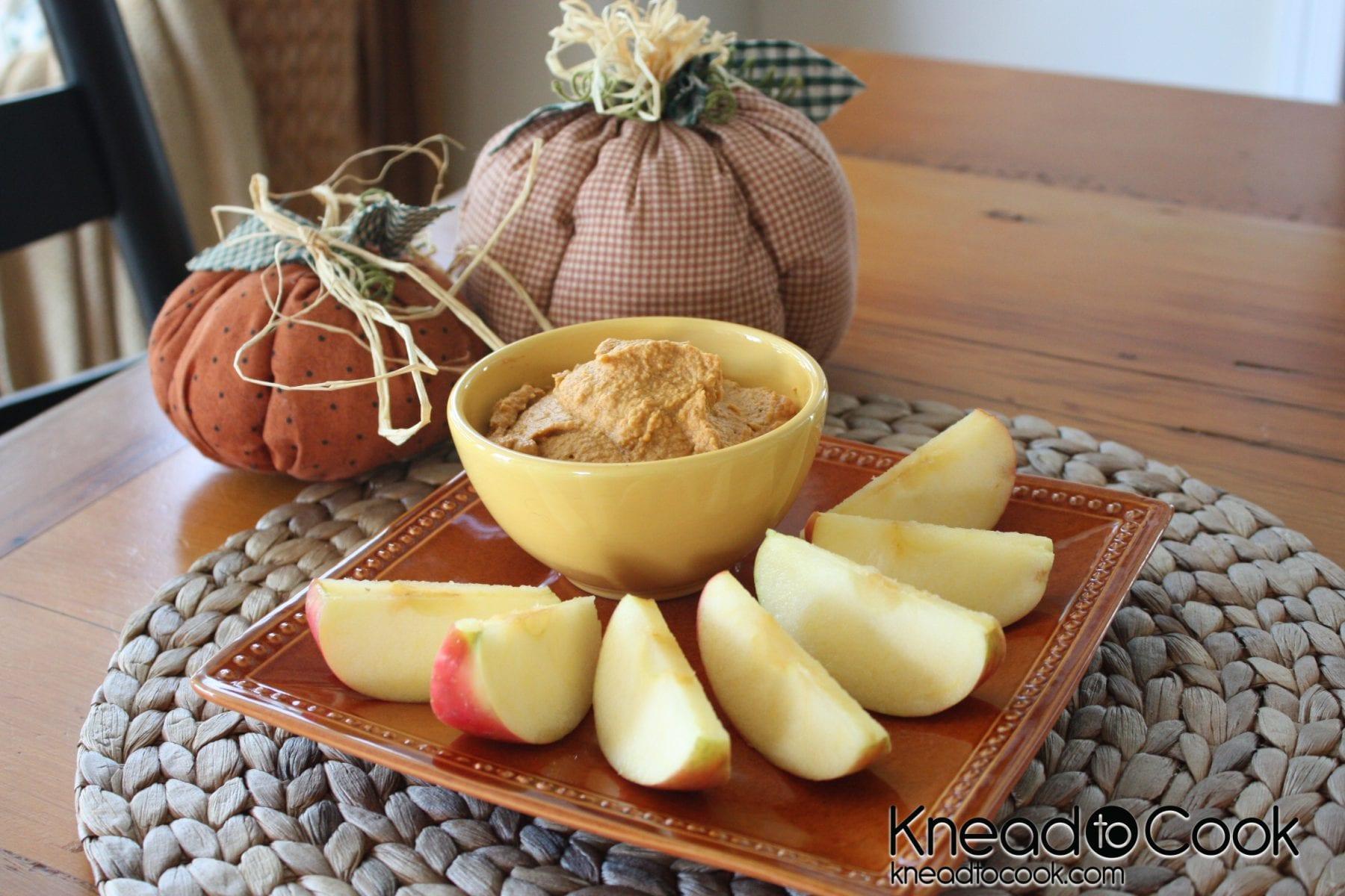 Sweet Pumpkin Hummus