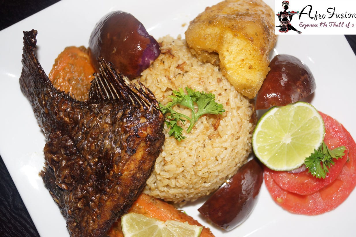 Senegalese thieboudienne rice recipe for African cuisine dishes