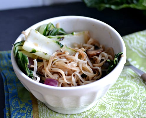 Easy thai salad