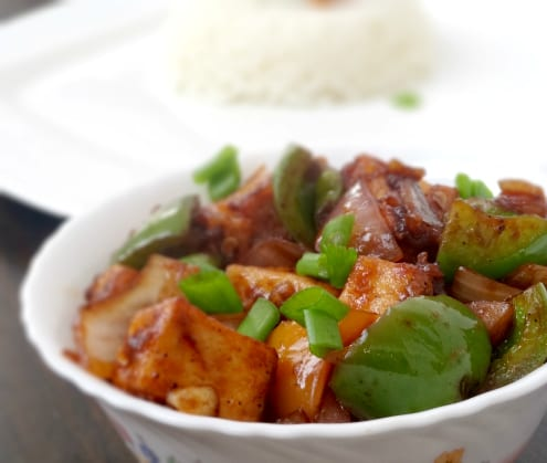 Chili Tofu Recipe