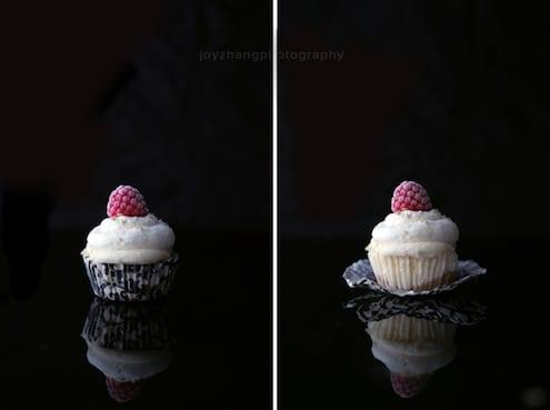 Ice Cream Rose Water Cupcakes