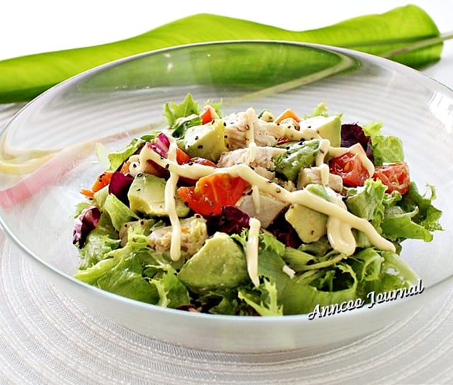 Avocado Chicken Salad – Honest Cooking
