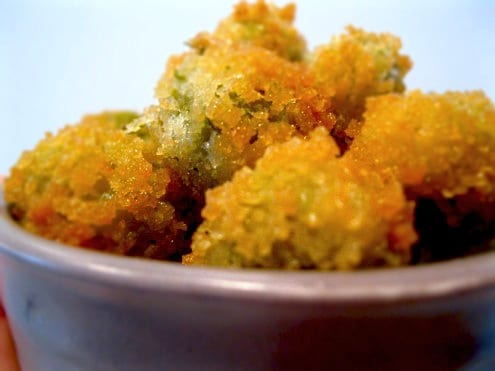 Fried Green Olives Recipe