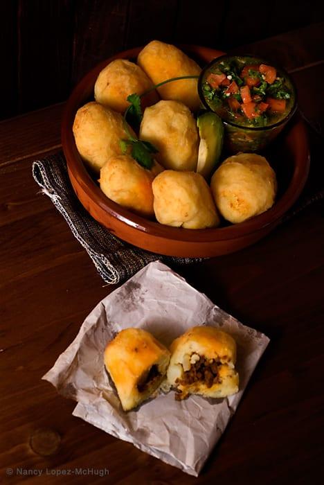 Chorizo Stuffed Potatoes - Mexican Recipe