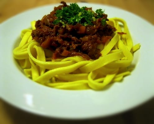 Roast Duck Ragu