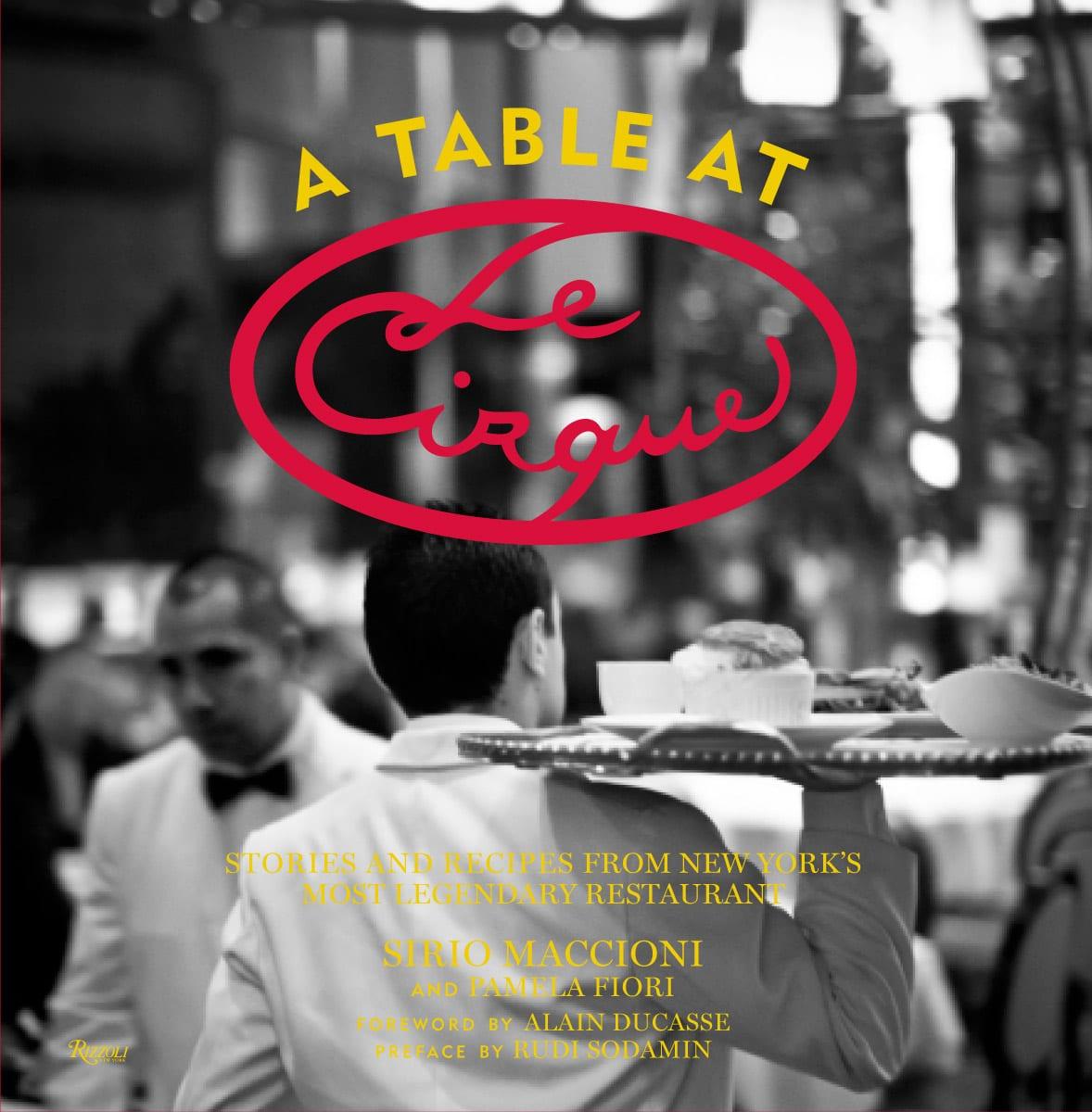 Table at Le Cirque Book