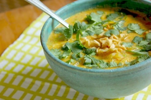 African Chicken Peanut Soup