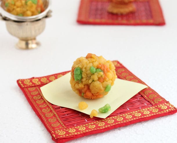 Bundi Ladoos - Indian Sweets