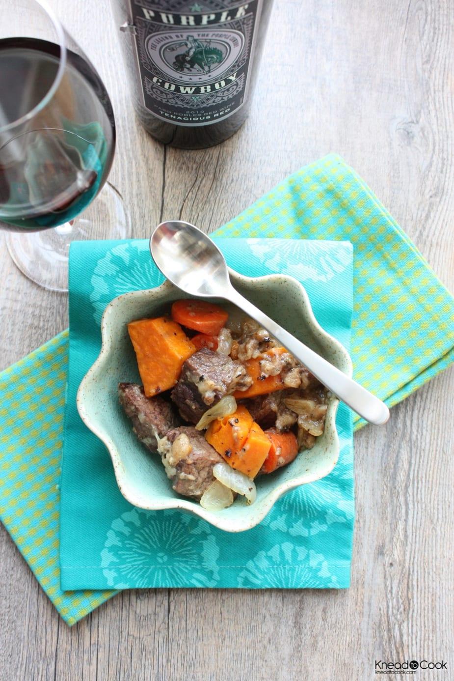 Drunken Beef Stew - Comfort Food Recipe