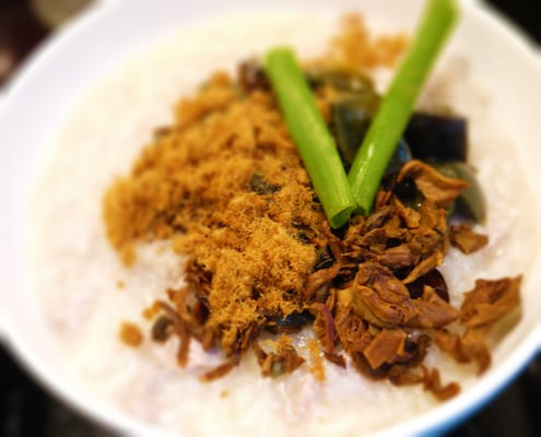 Jook Pork Porridge