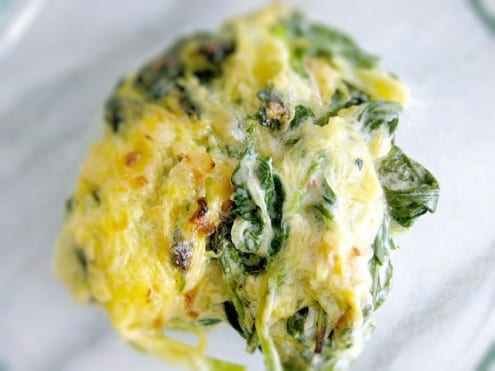 Kale and Spaghetti Squash Gratin Recipe