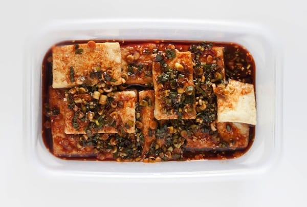 Korean Braised Tofu Recipe