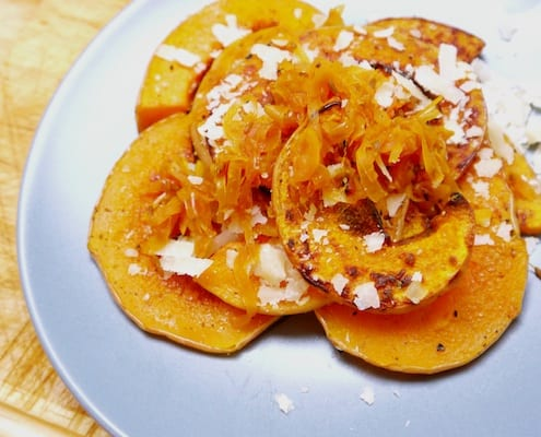Oven Roasted Butternut Squash Recipe