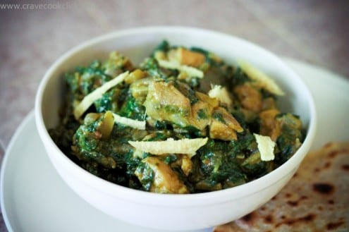 Palak Chicken Curry Recipe