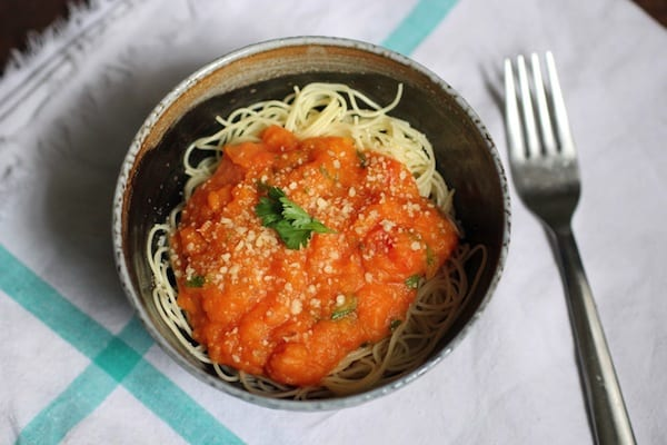 Pumpkin Pasta Sauce Recipe