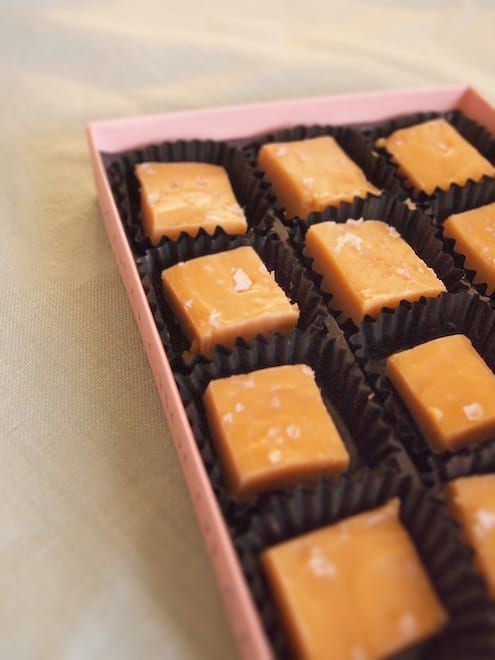 Salted Fudge Recipe