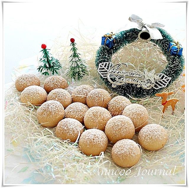 Snowball Cookies Christmas Cookies