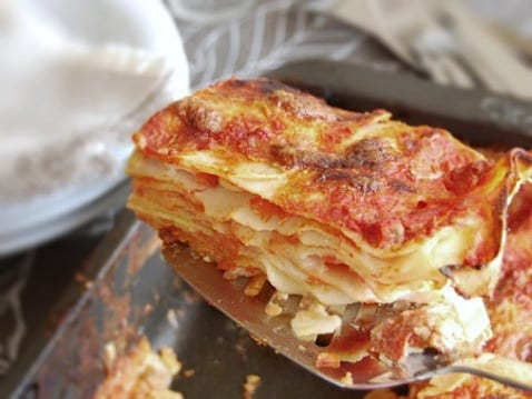 Sundays With The Family Authentic Italian Lasagne