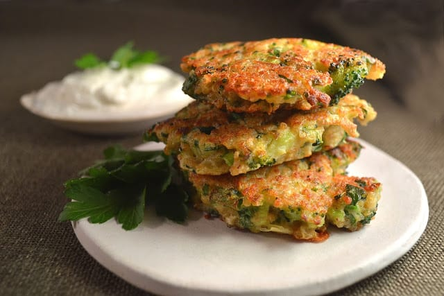 Broccoli Jalapeño Cheddar Fritters Recipe
