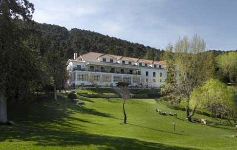 CAZORLA PARADOR HOTEL IN THE CAZORLA NATIONAL PARK NATURE RESERVE