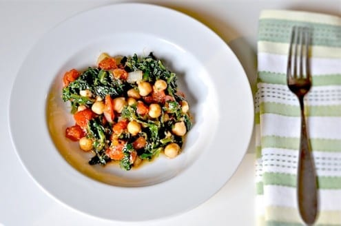 Chickadee – Spinach and Chickpeas – Honest Cooking