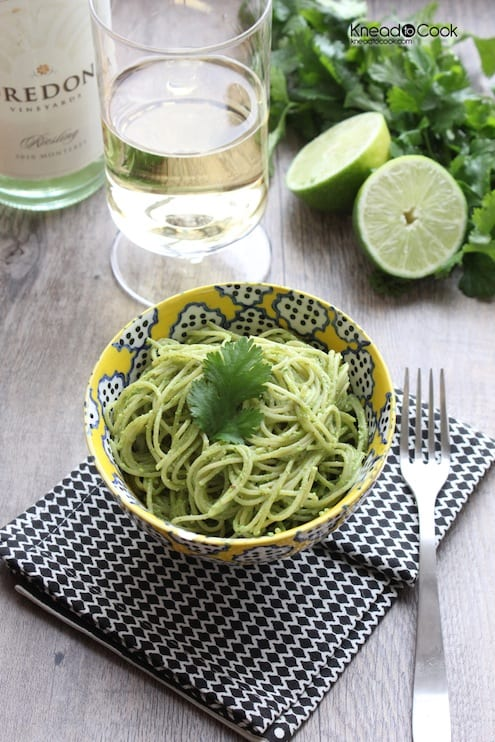 Cilantro Spinach Lime Pesto Recipe
