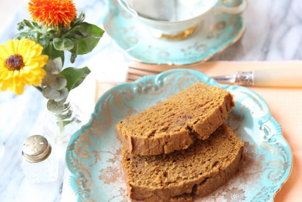 Coconut Spiced Pumpkin Bread