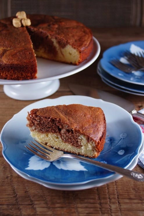French Yogurt Nutella Cake Recipe
