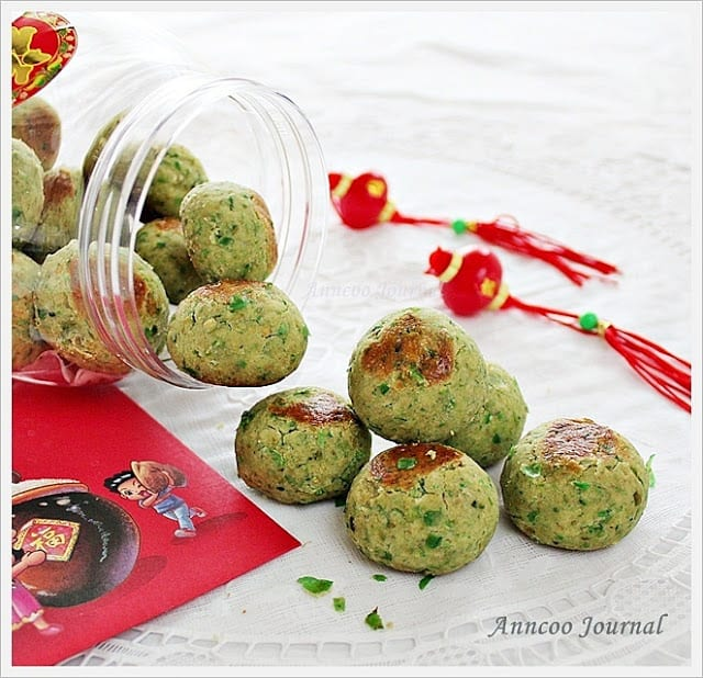 Green Pea Cookies Recipe