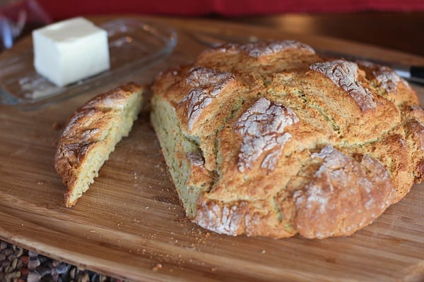 Irish Soda Bread Cheese Herbs Recipe