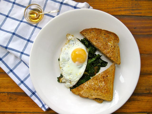 Kale and Eggs Breakfast